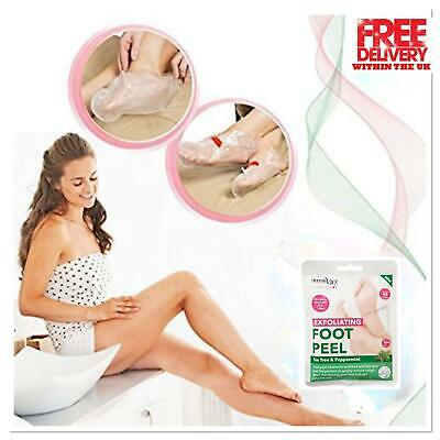 Exfoliating Peel Foot Mask Socks Baby Soft Feet Renewal Removes Dead Skin Callus