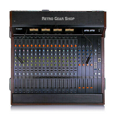 Yamaha PM1000 16 Ch Vintage Analog Recording Console Direct Outs / EQ mod + PSU