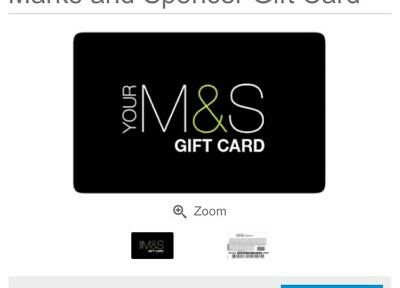 marks and spencer gift card £150