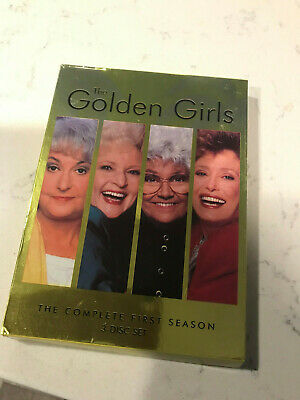 The Golden Girls Complete First Season (DVD, 3-Disc Set)