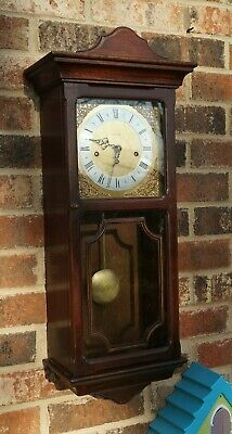METAMEC Westminster chime wall clock (Hermle). See Video