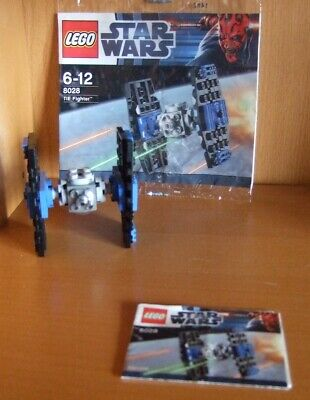 LEGO STAR WARS 8028  Mini TIE Fighter (2) Polybag with Instructions