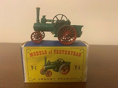 Models of Yesteryear Y-1 Alchin Traction Engine