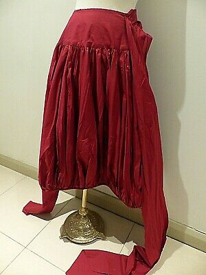 Designer Easton Pearson Christmas Red Skirt & Sash - Sash Can Be Worn As A Top
