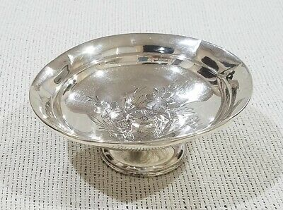 Vintage Reed & Barton 631 Sterling Silver Compote Candy Dish