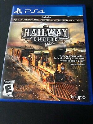 Railway Empire (Sony PlayStation 4, 2018) Complete!