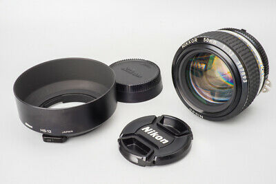 Nikon Nikkor Ai-S 50mm f/1.2 f1.2 Ais Manual Focus Prime Lens, For Nikon F Mount