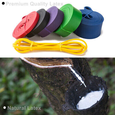 NEW Resistance Bands Natural Latex Loop Pull Up Assist Band Exercise Gym Fitness