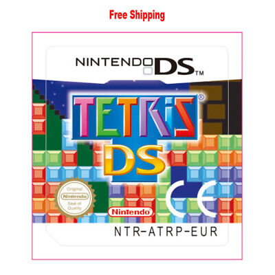 For Nintendo 3DS NDS Lite NDSI NDSXL NDSLL Tetris DS Video Game Card