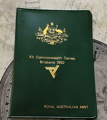 1982 RAM 6 Coin Mint Set - XII Commonwealth Games UNC