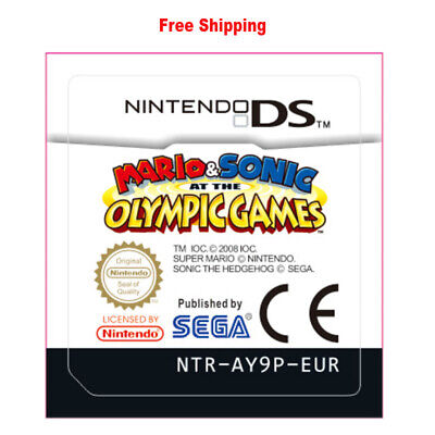 For Nintendo 3DS NDS Lite NDSI NDSXL NDSLL Mario & Sonic at the Olympic Games