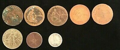 Philippines US occupation Coin Collection 8 pieces 1909 to 1966