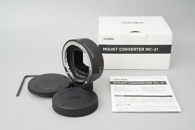 Sigma Mount Converter MC-21 Canon EF Mount to Leica Panasonic L Mount Adapter