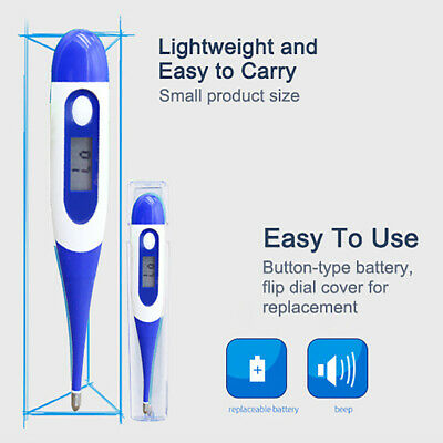 Thermometer Baby Adult Body Ear Mouth Underarm  Temperature Medical Digital LCD