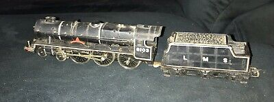 Vintage Ho OO Scale Airfix Steam Train With Coal Wagon Carriage Hong Kong Works