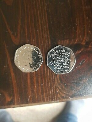2020 Uk Brexit 50P Fifty Pence Uncirculated Coin - Official Uk Issue