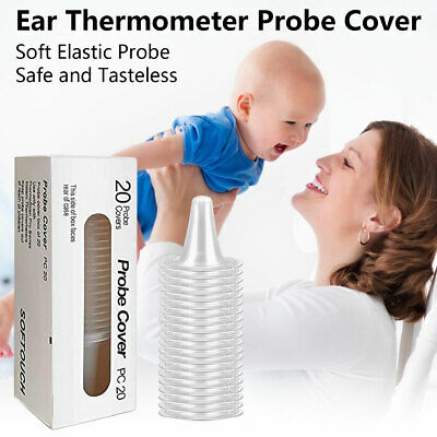 Ear Thermometer Replacement Lens Filters Probe Cover 20ct Braun Thermoscan Use