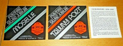 Collectable labels - Set of 2 Premier Speedway Warrnambool 1983 labels MINT