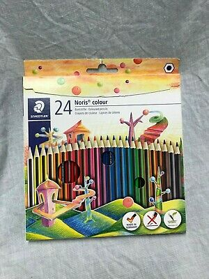 Staedtler Noris Club 185 C24 Assorted Colours Colouring Pencils (Pack of 24) Y3
