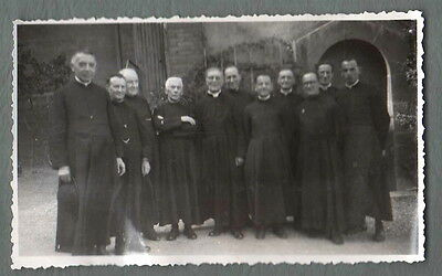Photography to the 1940 - D' One Groupe de Priests with Identify - Area Lyonnai