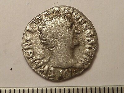 5150	Ancient Roman Trajan silver coin drachm 1 - 2nd century AD