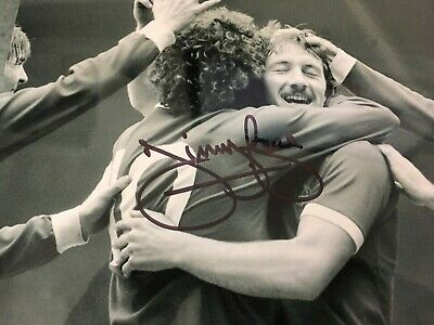 Jimmy Case - Liverpool Footballing Legend - Excellent Signed Photograph