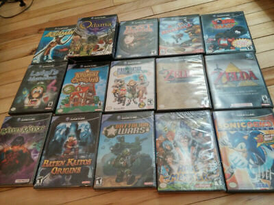 nintendo gamecube game lot
