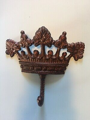 Architectural Cast Metal Crown Hook