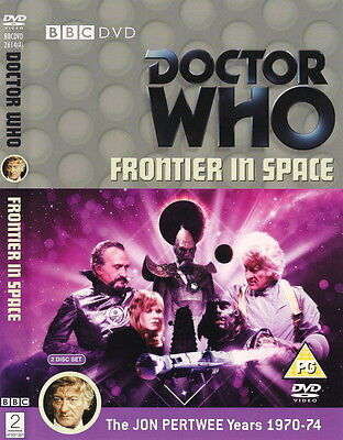 Doctor Who - Frontier in Space (2 Disc Special Edition) Pertwee NEW UNSEALED BBC
