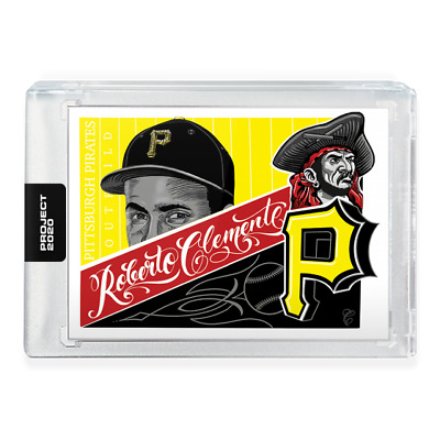 Topps PROJECT 2020 Card #10 Roberto Clemente by Mister Cartoon Pre-Sell