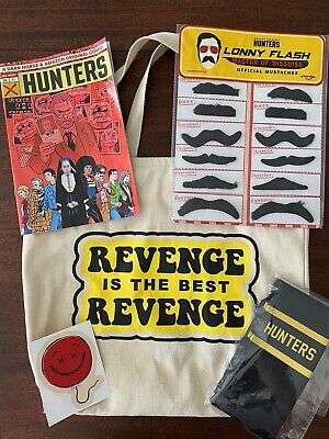 Hunters Amazon Prime Video Grindhouse Experience Event Swag