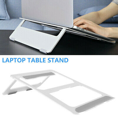 Adjustable Laptop Stand Table Folding Desk Bed Tray Sofa Computer Study Portable