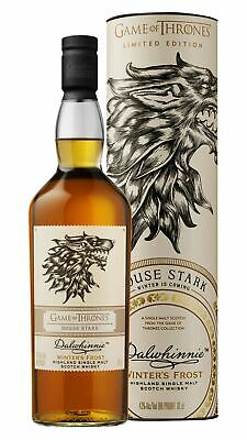 Dalwhinnie - Game Of Thrones - House Stark Winters Frost Whisky 70cl