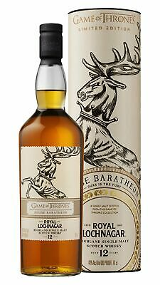 Royal Lochnagar - Game Of Thrones - House Baratheon 12 year old Whisky 70cl