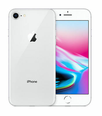 Apple iPhone 8 - 64GB - Silver (EE) A1905 (GSM) BRAND NEW AND SEALED
