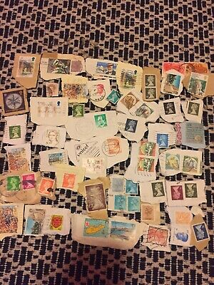 World Stamp Collection - Brilliant  Mixture Un Researched