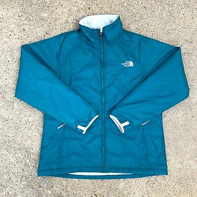 The North Face Womens Teal Insulated Jacket Size XL