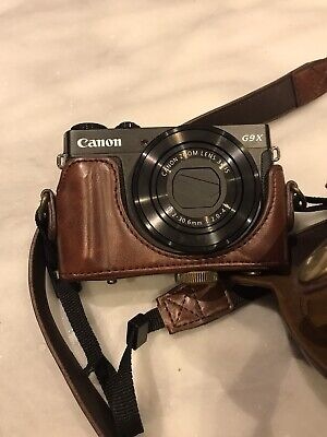 Canon PowerShot G9 X Digital Camera - Boxed With Case