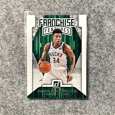 2019-20 Donruss NBA Franchise Features Basketball Cards (19 Card Lot)