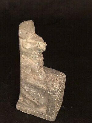 Rare Ancient Egyptian Seated Sekhmet  (1403-1365 BC)