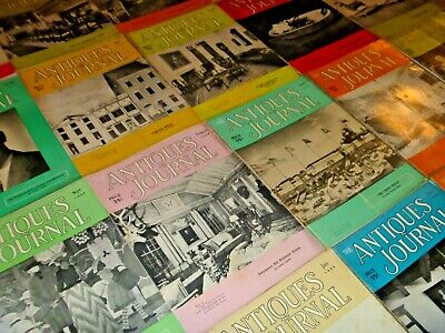 LOT OF ~100 VINTAGE 1950s ANTIQUES JOURNAL COLLECTOR'S MAGAZINES - MUST SEE SET