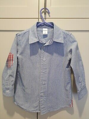 OSH KOSH size 2/3 boys shirt with check detail, excellent condition