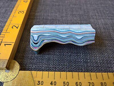 Fordite Detroit agate 23 grams lapidary rough raw findings jewelry supplies gem