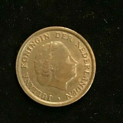 1950 Netherlands One 1 Cent - Very Nice Vintage Coin