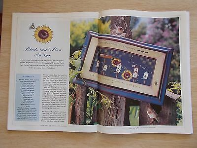 Folk Art & Decorative Painting Vol 3 #1~Teddy~Cats~Fruit~Bird Feeders~Wild Rose
