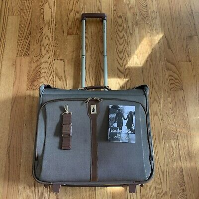 """London Fog Oxford Collection 23"""" Wheeled Rolling Garment Bag"""