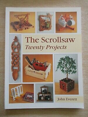 The Scrollsaw Twenty Projects~John Everett~Love Spoon~Toolbox~Frames~Plant Box