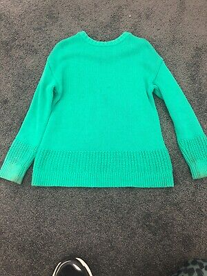 Girls Seed Size 5 Knit Green