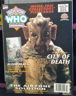 Doctor Who Magazine Issue 205, 27th October 1993