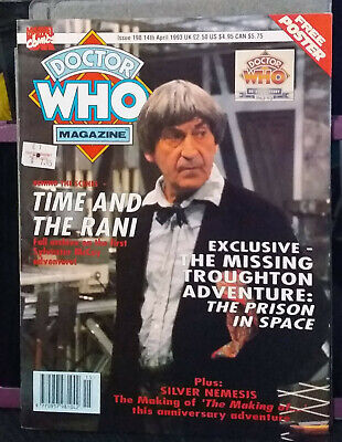 Doctor Who Magazine Issue 198, 14th April 1993